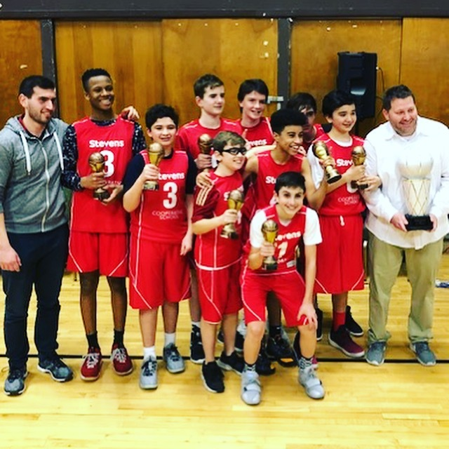 Stevens 8th Grade Boys Basketball Takes the Championship Title!
